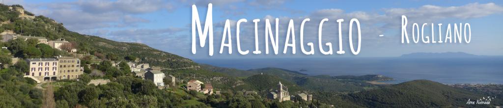Macinaggio Rogliano Sentier des douaniers Randonnée Cap Corse