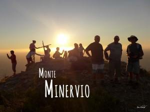 Randonnée Cap Corse Coucher de soleil Monte Minervio