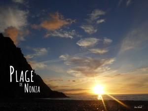 Randonnée Cap Corse Coucher de soleil Plage de Nonza