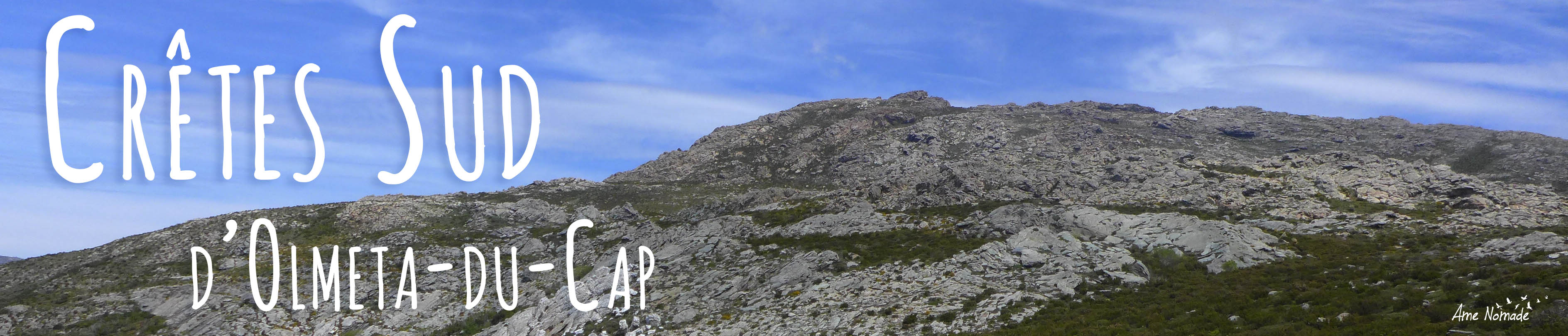 Randonnées Cap Corse Crêtes sud d'Olmeta-du-Cap