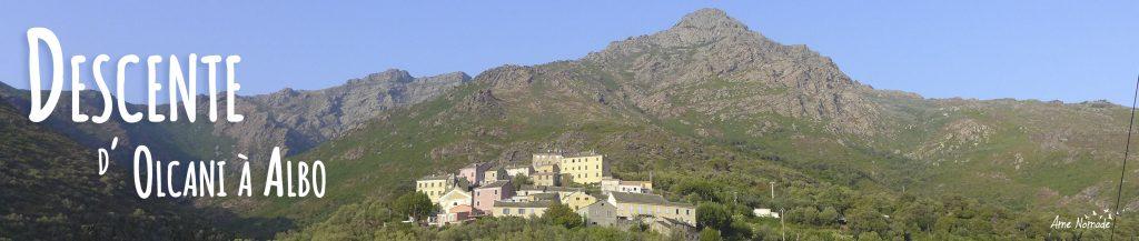 Randonnée dans le Cap Corse d'Olcani à Albo