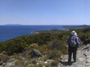 Jour 3. Le sentier de la pointe du Cap Corse offre des vues magiques sur le bout du Cap, l'archipel toscan et les côtes italiennes.