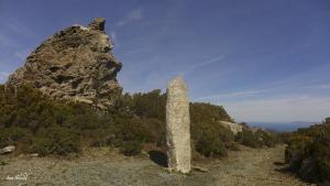 Jour 2. Menhir de Pinzu a Verghine, monument mégalithique.