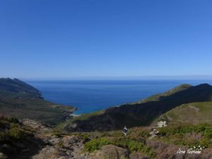 Sur les crêtes Nord du Cap Corse