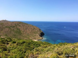 Le sémaphore de la Pointe du Cap Corse