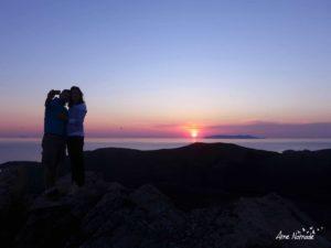 Lever de soleil au Monte Sant'Antonino