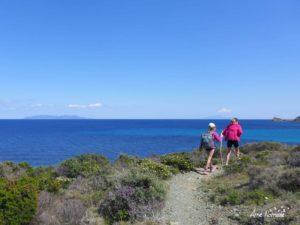 Sur le sentier des douaniers de la Pointe du Cap Corse